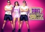 John Abhraham, Deepika Padukone, Akshay Kumar (Desi Boyz Wallpaper)