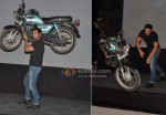 John Abraham Lifts a Bike as Part of Force Promotions