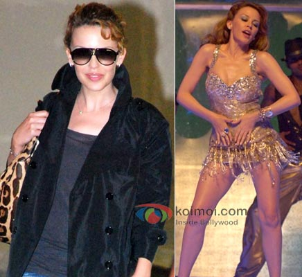Kylie Minogue Bollywood's Foreign Fixation