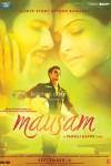 Shahid Kapoor, Sonam Kapoor (Mausam Movie Poster)