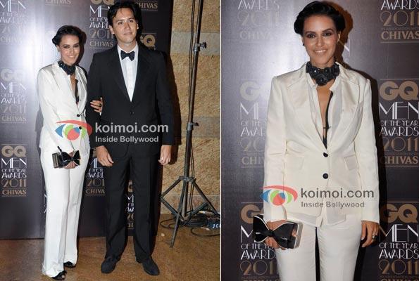 Neha Dhupia At GQ Awards 2011