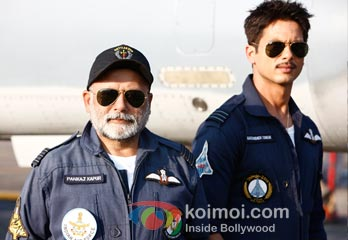 Pankaj Kapur, Shahid Kapoor | Behind the scenes of Mausam