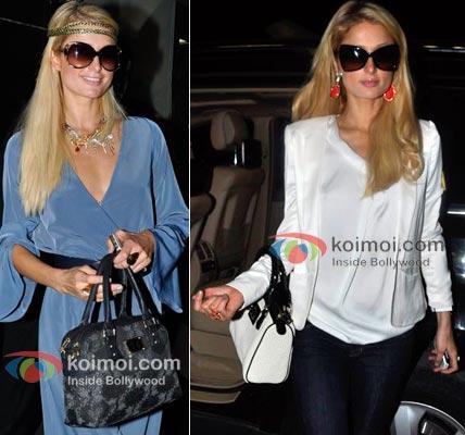 Paris Hilton Bollywood's Foreign Fixation