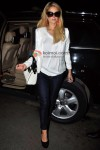 Paris Hilton Leaves India