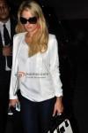 Paris Hilton at the Mumbai Airport