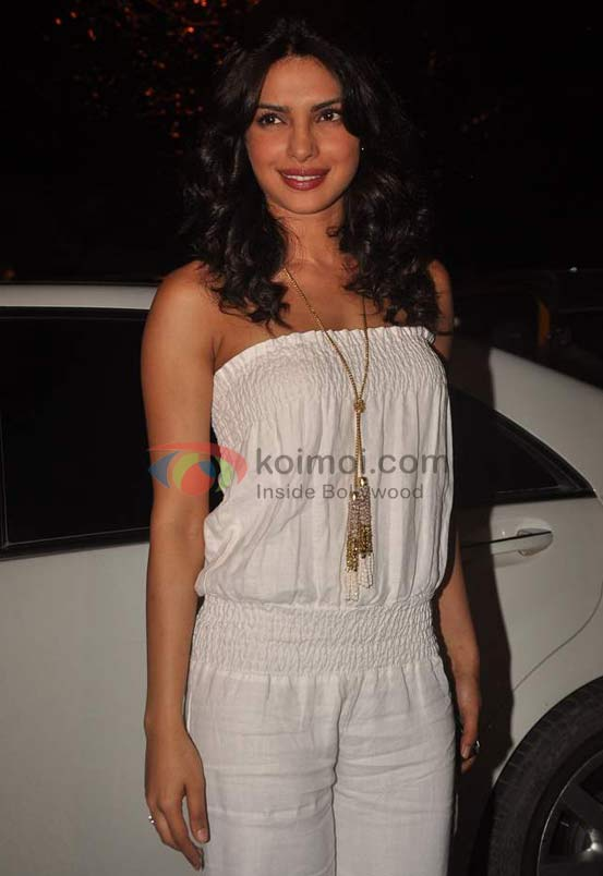 Priyanka Chopra at Ranbir Kapoor's birthday and 'Rockstar' bash