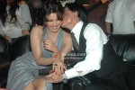Priyanka Chopra gets a peck from Shah Rukh Khan