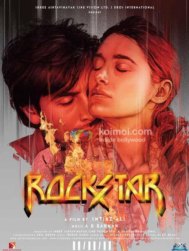 Ranbir Kapoor (Rockstar Movie Poster)