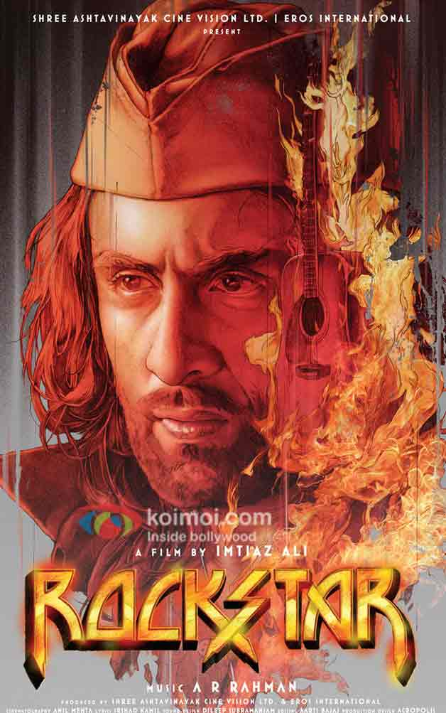 Ranbir Kapoor (Rockstar Movie Poster)