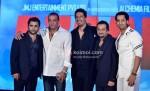 Sachiin Joshi, Sanjay Dutt, Sulaiman Merchant, Prashant Chadha, Salim Merchant,Launches Aazaan Music