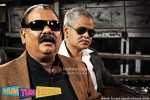 Satish Kaushik, Sanjay Mishra (Hum Tum Shabana Movie Stills)