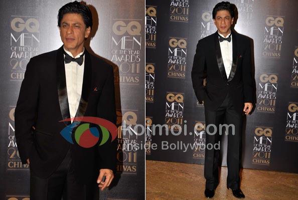 Shah Rukh Khan At GQ Awards 2011