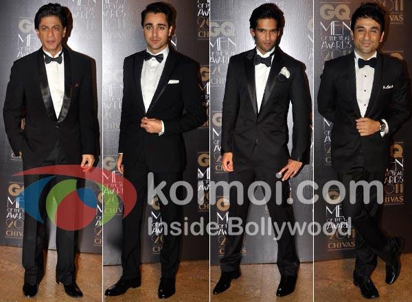 Shah Rukh Khan, Imran Khan, Sidhartha Mallya, Vir Das Bollywood's Best/Worsed Dressed