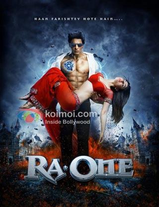 Shah Rukh Khan, Kareena Kapoor Ra.One Movie Stills