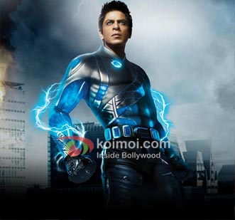 Shah Rukh Khan In Ra.One Movie