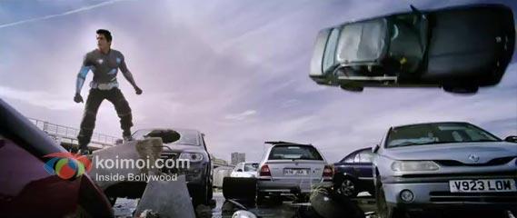 Shah Rukh Khan Ra.One Movie Stills