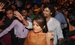 Sheeba, Sonu Nigam visits Lalbaugcha Raja