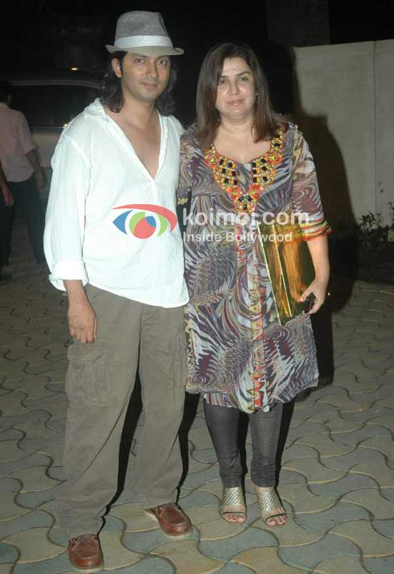 Shirish Kunder and Farah Khan At Speedy Singhs Bash