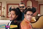 Shreyas Talpade, Satish Kaushik, Tusshar Kapoor (Hum Tum Shabana Movie Stills)