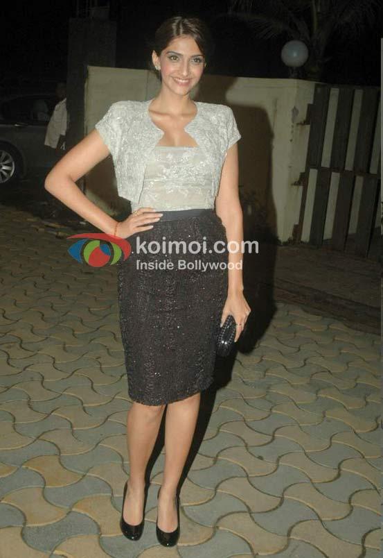 Sonam Kapoor At Speedy Singhs Bash