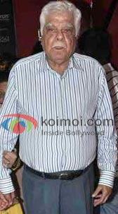 Veteran Bollywood producer Surinder Kapoor passed away
