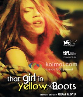 That Girl In Yellow Boots Review (That Girl In Yellow Boots Movie Poster)