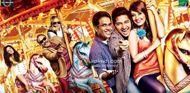 Tusshar Kapoor, Shreyas Talpade, Minissha Lamba (Hum Tum Shabana Movie Wallpapaer)