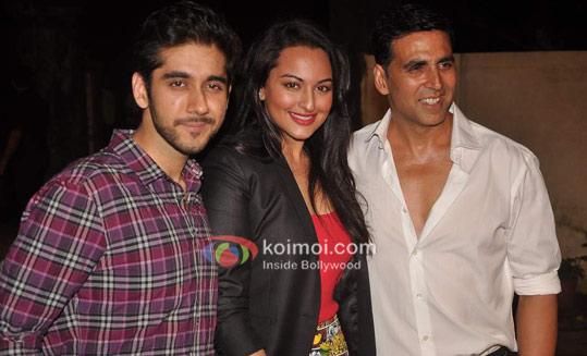 Vinay Virmani, Sonakshi Sinha, Akshay Kumar At Speedy Singhs Bash