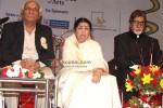 Yash Chopra & Amitabh Bachchan at Lata Mangeshkar's Birthday