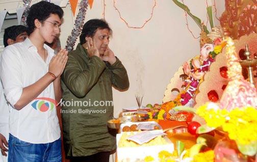 Yash (Govinda's Son), Govinda prays to Ganpati