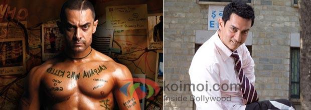 Aamir Khan (Ghajni, 3 Idiots)