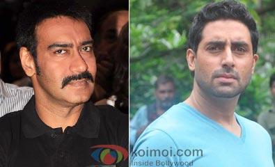 Ajay Devgan, Abhishek Bachchan