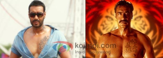 Ajay Devgan (Golmaal 3, Singham)