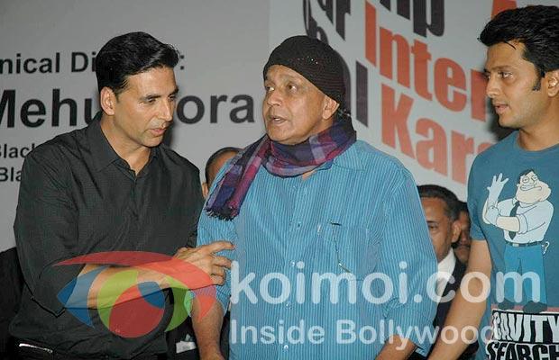 Akshay Kumar, Mithun Chakraborty, Ritesh Deshmukh