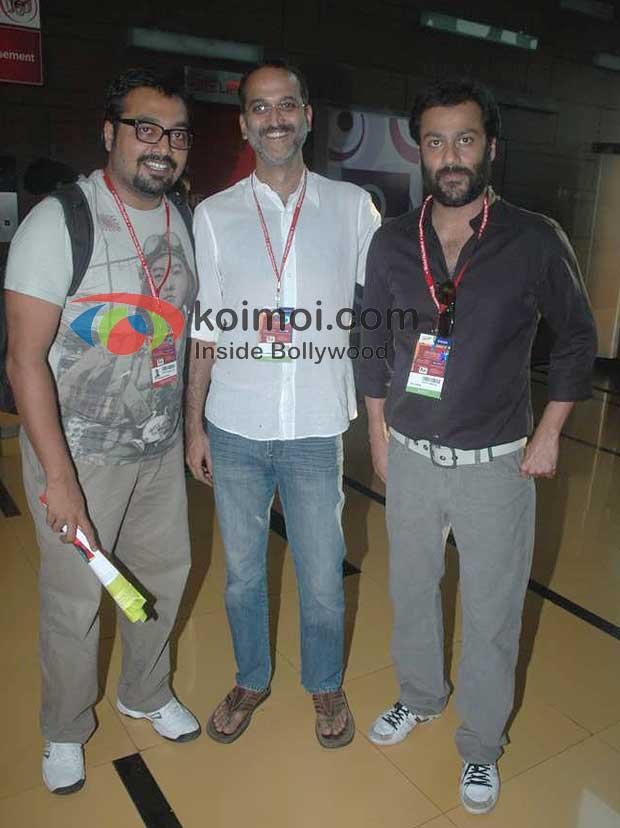 Anurag Kashyap, Rohan Sippy, Abhishek Kapoor