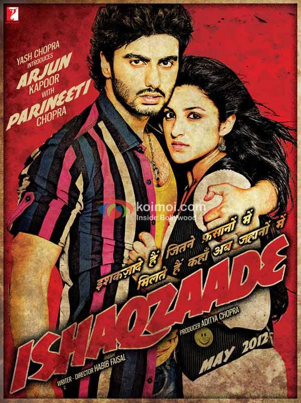 Arjun Kapoor, Parineeti Chopra (Ishaqzaade Movie Poster)