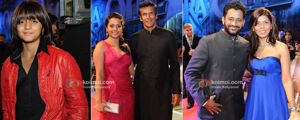 Armaan Verma, Shahana Goswami, Resul Pookutty At London Premiere Of Ra.One
