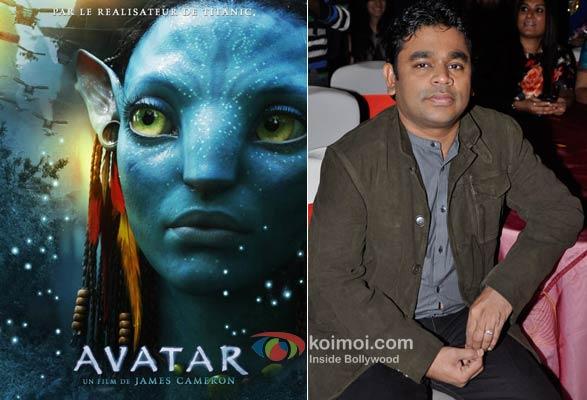 True Blue: Avatar & Rahman!