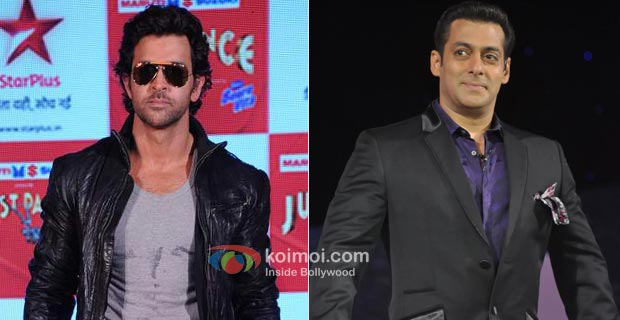 Hrithik Roshan Scores Over Salman Khan On Television!