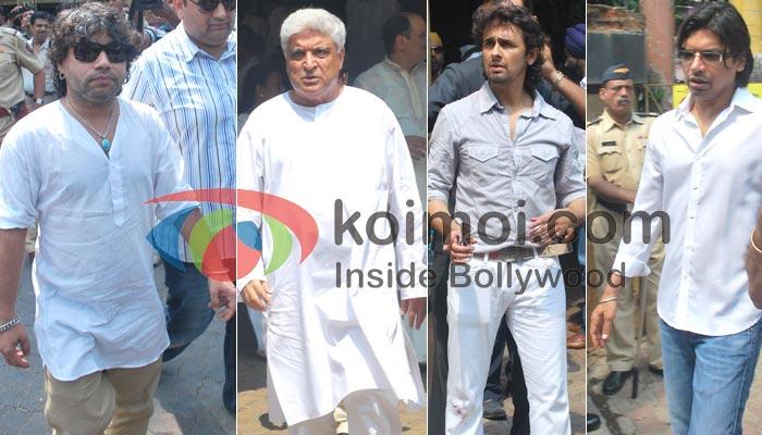 Kailash Kher, Javed Akhtar, Sonu Niigaam, Shaan