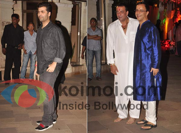 Karan Johar, Sanjay Dutt, Vidhu Vinod Chopra