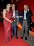 Kiran Juneja, Ramesh Sippy, Amit Khanna At 13th Mumbai Film Festival
