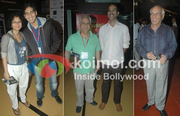 Kiran Rao, Ayan Mukerji Ramesh, Sippy, RohanSippy, Yash Chopra At 13th Mumbai Film Festival