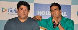 Sajid Khan, Akshay Kumar At Housefull Press Meet