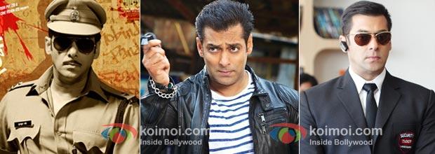 Salman Khan (Dabangg, Ready, Bodyguard)