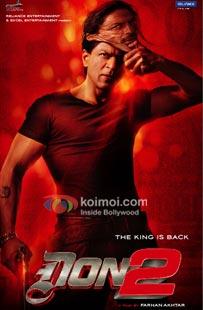 Shah Rukh Khan Don 2 Poster