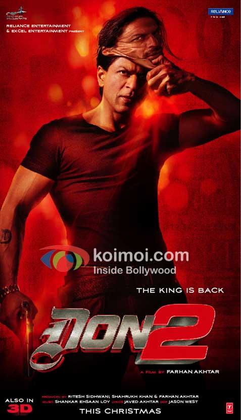 Shah Rukh Khan Don2