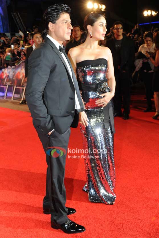 Shah Rukh Khan, Kareena Kapoor At London Premiere Of Ra.One