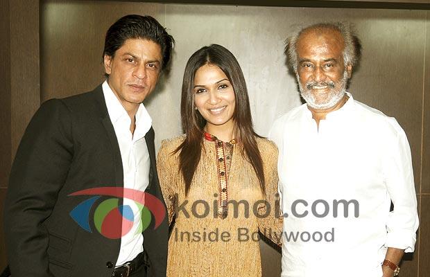 Shah Rukh Khan, Rajnikanth