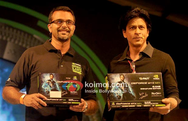 Shah Rukh Khan At Promotional event For Ra.One